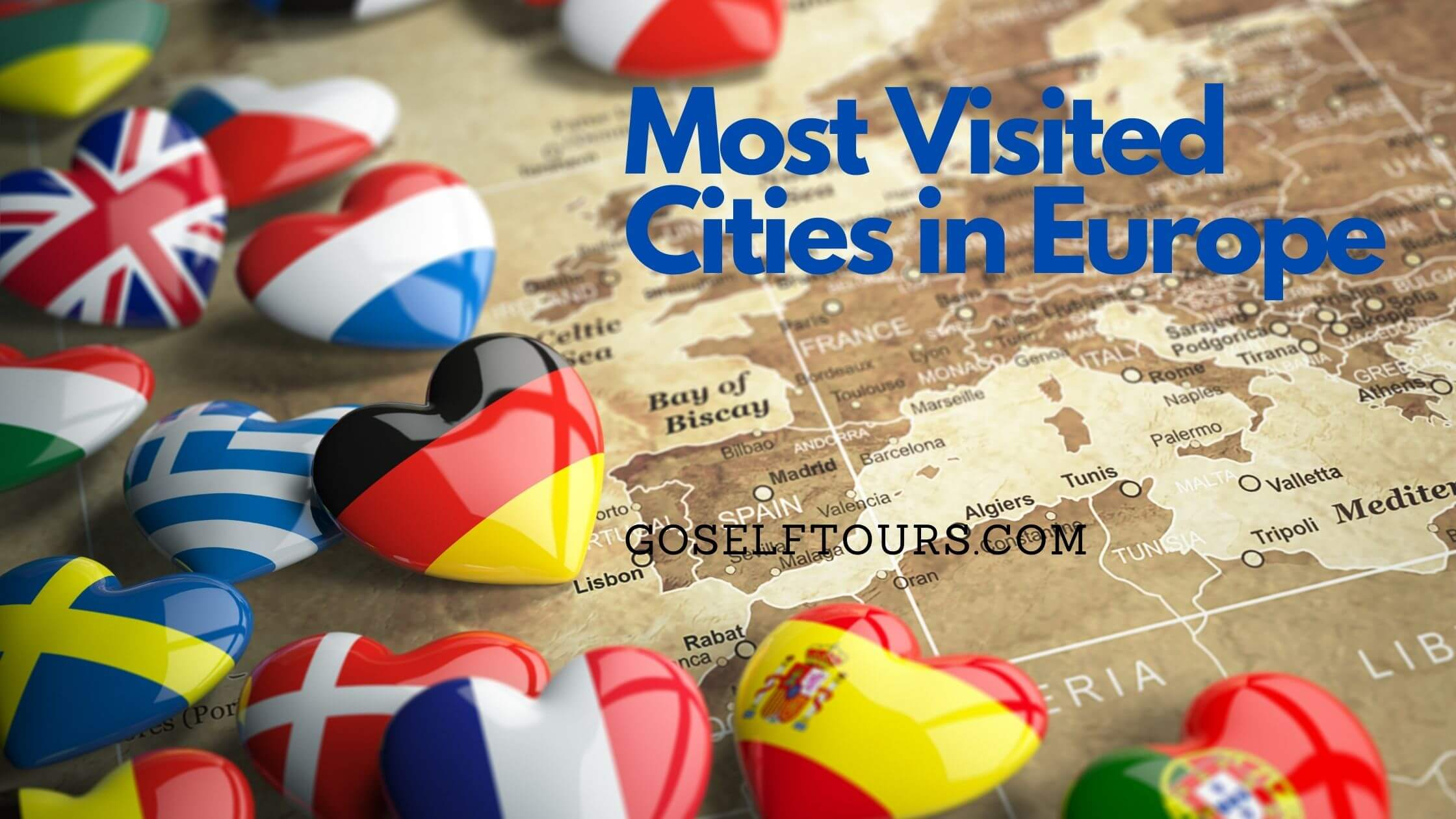 Most Visited Cities in Europe