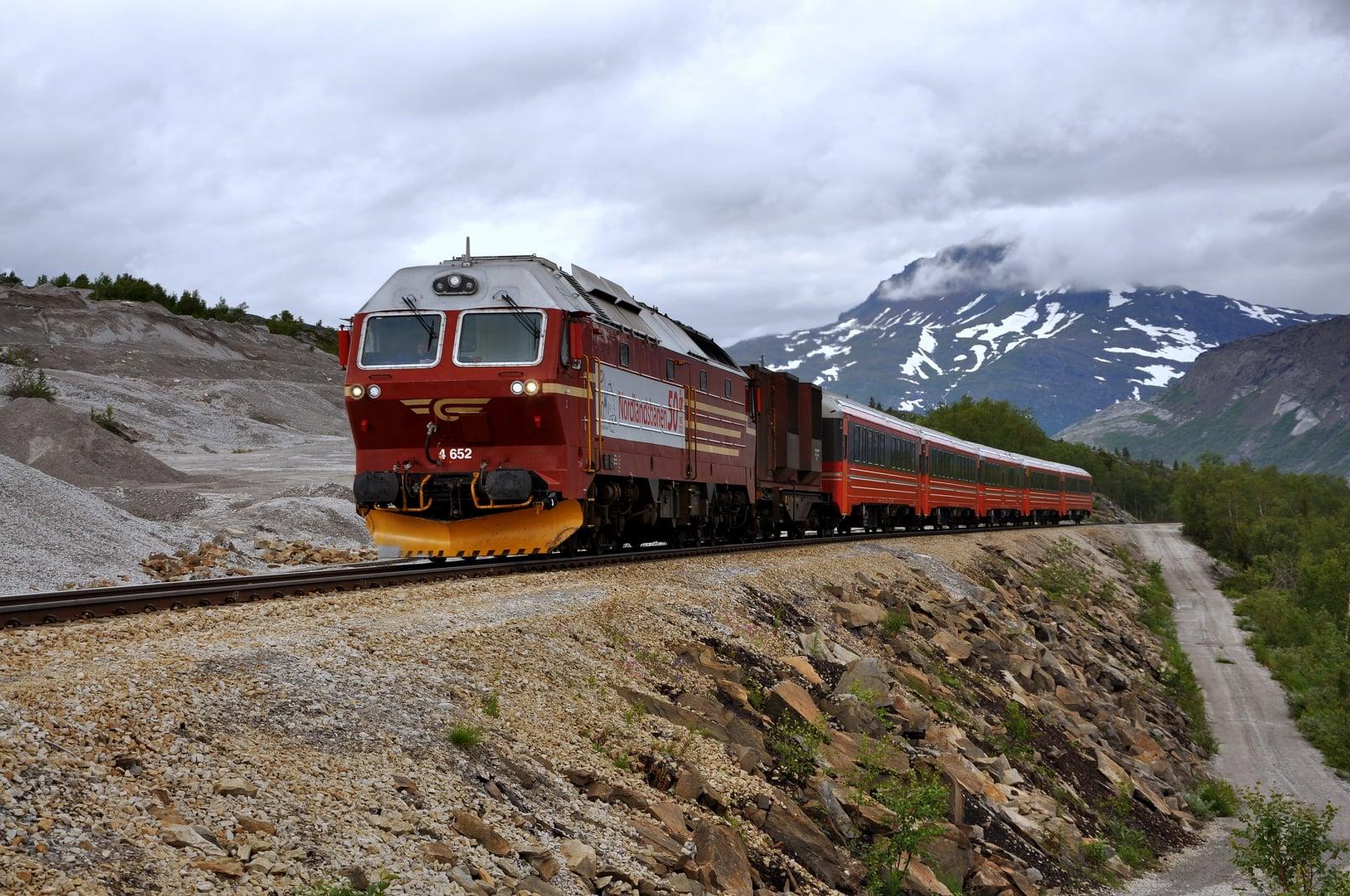 Nordlandsbanen, Norway ,Arctic train